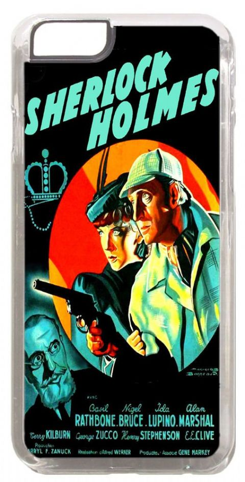 Sherlock Holmes The Adventures Of Cover/Case Fits iPhone 6 PLUS + /6 PLUS S.